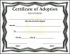 Free Certificate of Adoption
