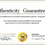 Free Certificate of Authenticity Template Word