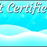 Free Christmas Gift Certificate Template Printable