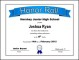 Free Download Honor Roll Certificate Template