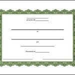 Free Fake Certificate Template