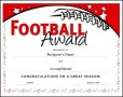 Free Football Certificate Template
