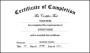Free Kindergarten Preschool Certificate of Completion Word