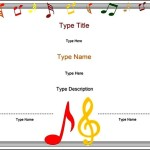 Free Music Certificate Template
