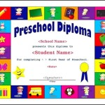 Free Preschool Certificate Template