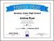 Free Printable Honor Roll Certificate