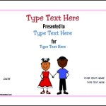 Free Printable Preschool Certificate Template