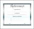 Free Retirement Certificate Template
