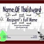 Free School Award Certificate