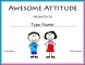 Free Student Council Certificate Template