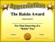 Funny Certificate Template of Appreciation