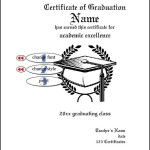Graduation Certificate of Completion Template