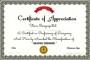 Graphic Designer Appreciation Certificate