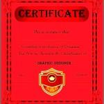 Graphic Designer Recognize Certificate