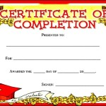 Kids Certificate of Completion Award