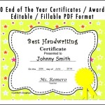 Kids Graduation Certificate Template