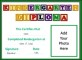 Kindergarten Certificate of Graduation Template