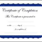 Macbook Completion School Certificate Template