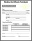 Medical Certificate Free Template