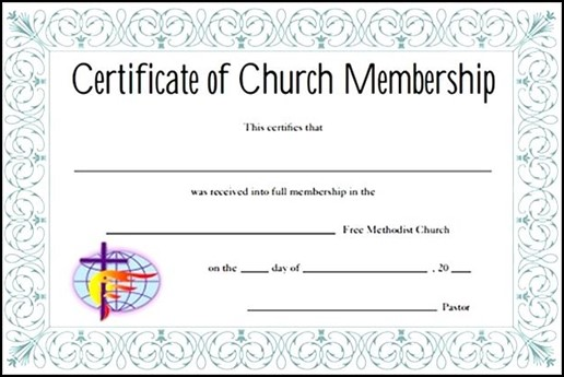 Membership Certificate  Sample Templates  Sample Templates