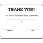 Microsoft Publisher Certificate Template
