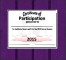 Participation Certificate Template Sample