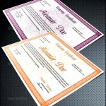 Photoshop Template for Diploma Certificate