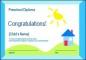 Preschool Certificate Template PPT