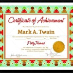 Preschool Completion Certificate Templates