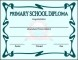 Primary School Certificate Template