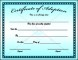 Printable Adoption Certificate Template Sample