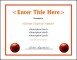Printable Basketball Certificate Template