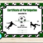 Printable Football Certificate