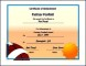 Printable Football Certificates UK Template