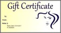 Printable Free Gift Certificate Hair Salon Template Online