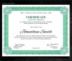 Printable Graduation Certificates
