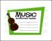 Printable Music Certificate Format