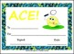 Printable Tennis Certificate for Kids