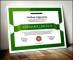 Professional Certificate Vector