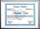 Professional Diploma Certificate Template