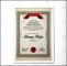 Professional Recognition Certificate