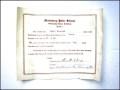 Public School Scholarship Certificate