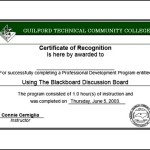 Recognition Certificate Template Word