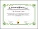 Retirement Certificate Template PDF