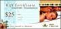 SPA Gift Certificate Template