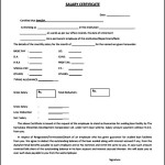 Salary Certificate Template Download