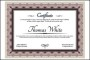 Sample Award Certificate