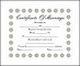 Sample Certificate of Marriage Template