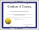 Sample Certificate of Training Download