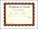 Sample Death Certificate Template